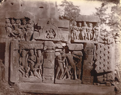 Minor sculpture from the Dashavatara Temple, Deogarh